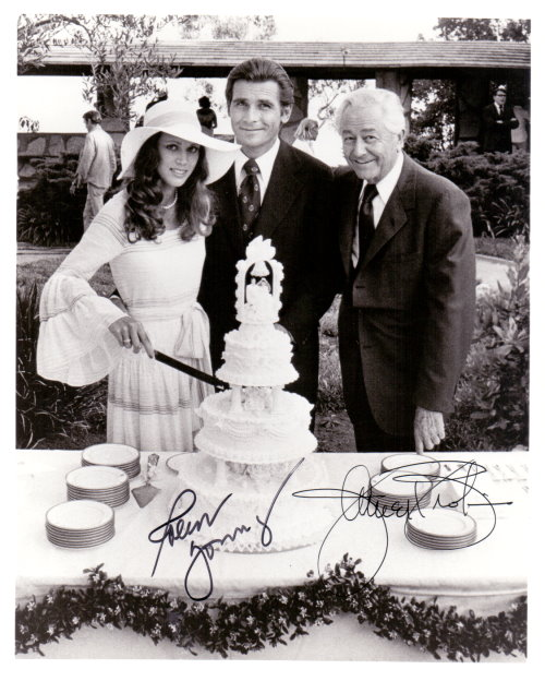 Dr. Marcus Welby Autogramm James Brolin + Robert Young