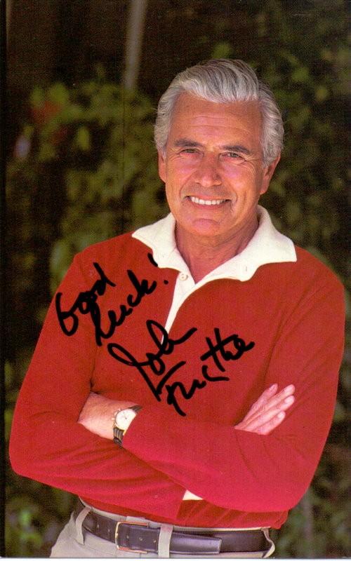 John Forsythe Autogramm