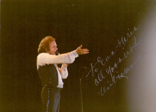 Neil Diamond Autogramm