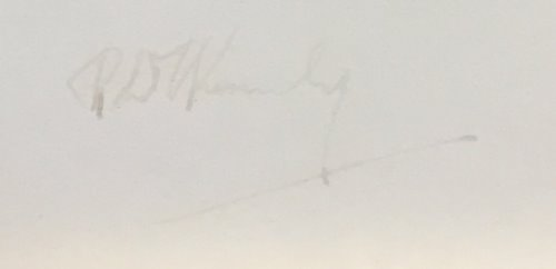 Robert F. Kennedy Autogramm