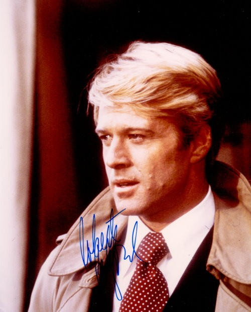 Robert Redford Autogramm