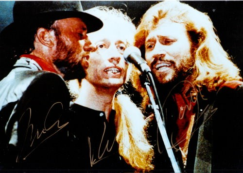 Bee Gees Autogramm