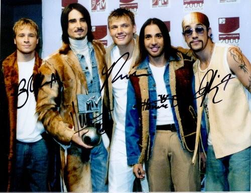 Backstreet Boys Autogramm
