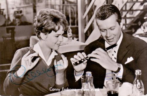 Peter Weck und Conny Froboess