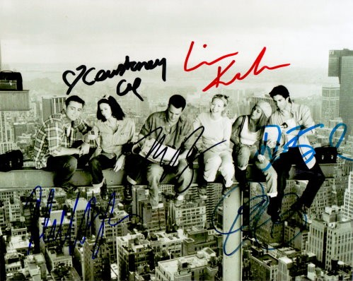 Friends Cast Autogramm