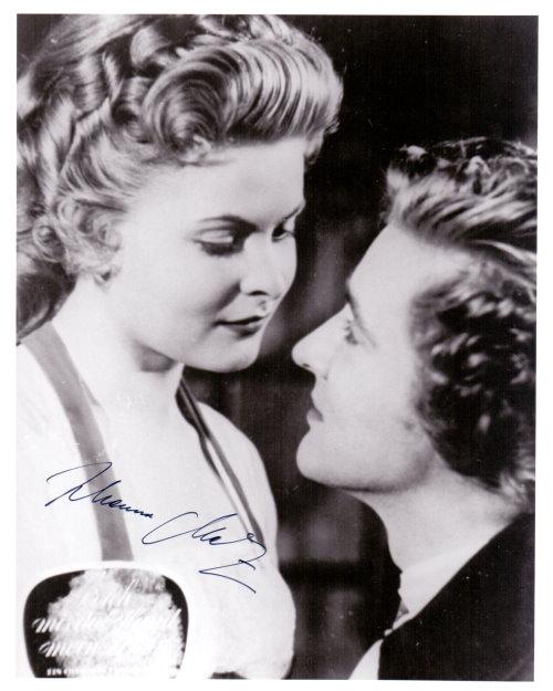 Johanna Matz - Autogramm