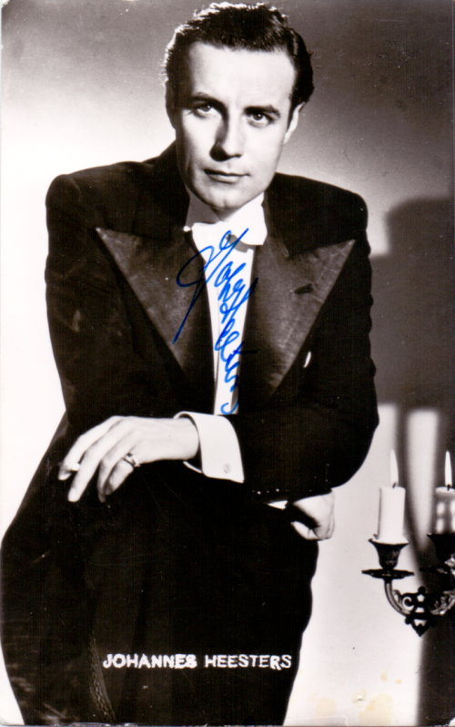 Johannes Heesters - Autogramm