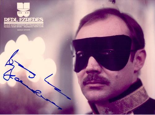 Klaus Maria Brandauer - Autogramm