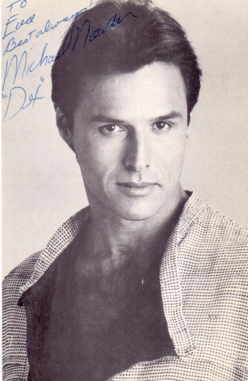 Michael Nader - Autogramm