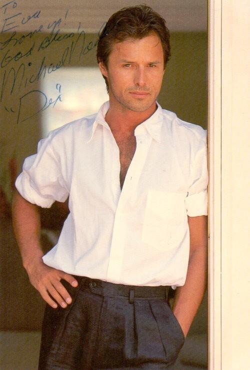Michael Nader Autogramm