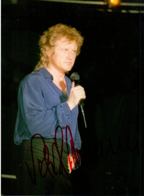 Peter Hofmann Autogramm
