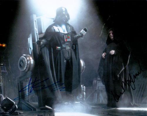 Star Wars Duo - Autogramm