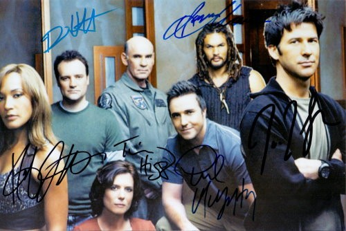 Stargate Atlantis Autogramm