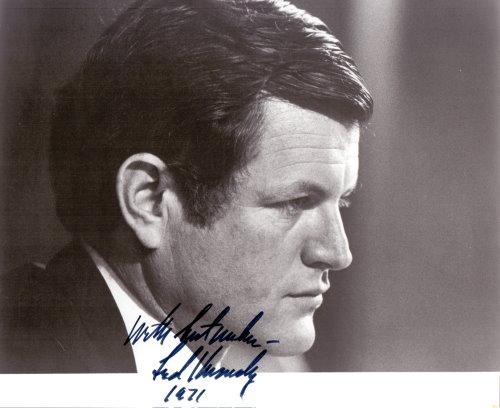 Edward Kennedy Autogramm