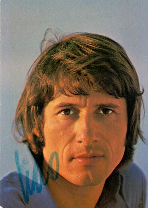 Udo Jürgens Autogramm-Karte