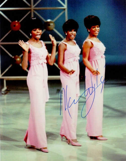 The Supremes - Mary Wilson Autogramm
