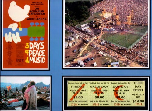 Woodstock Three Day Ticket