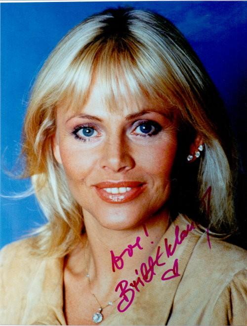 Britt Ekland - Autogramm
