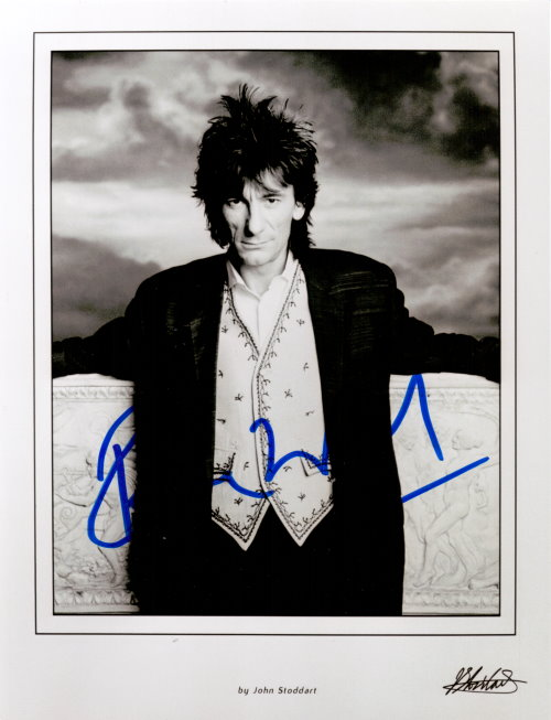Ron Wood Autogramm