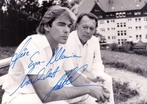 Sascha Hehn signiertes Foto