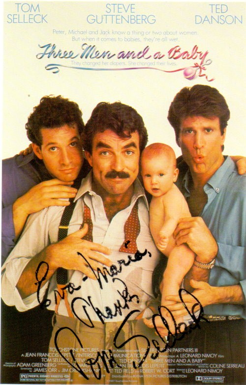 Tom Selleck Autogrammkarte