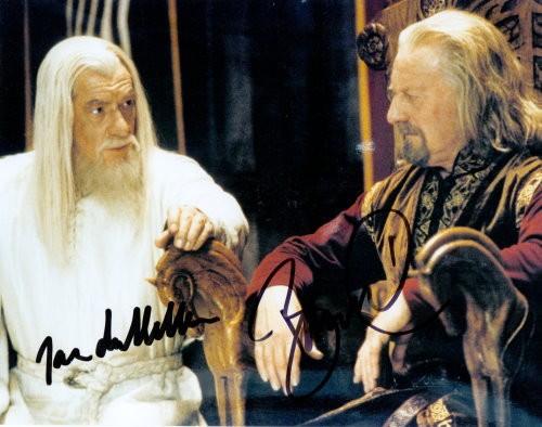 Herr der Ringe Autogramm