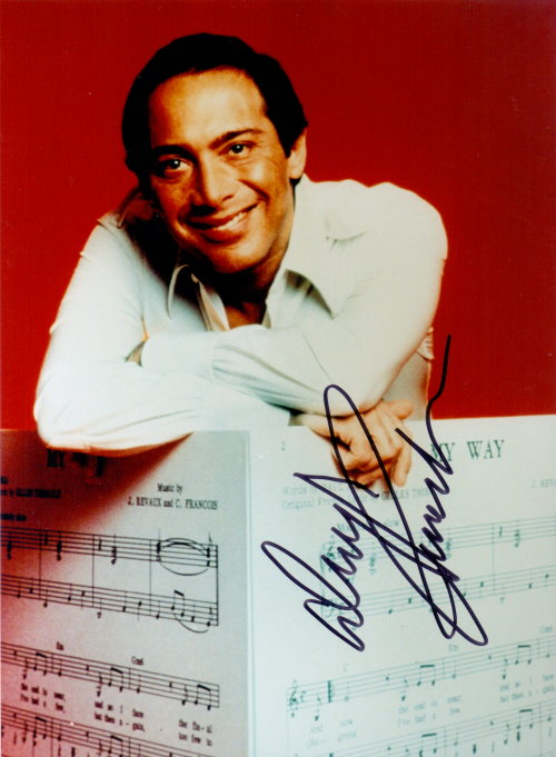 Paul Anka Autogramm