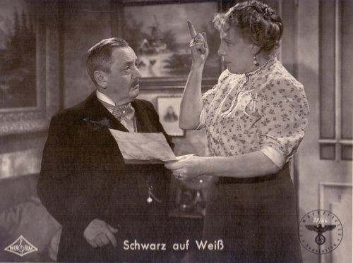 Hans Moser - Kino-Aushangfoto