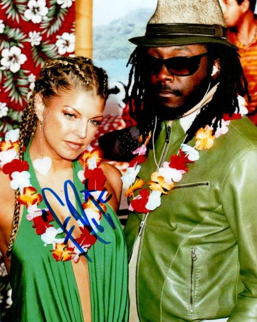 Fergie (Black Eyed Peas) Autogramm