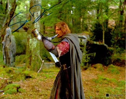 Sean Bean Autogramm als Boromir