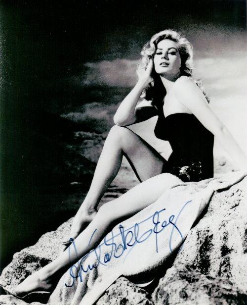 Anita Ekberg - Autogramm