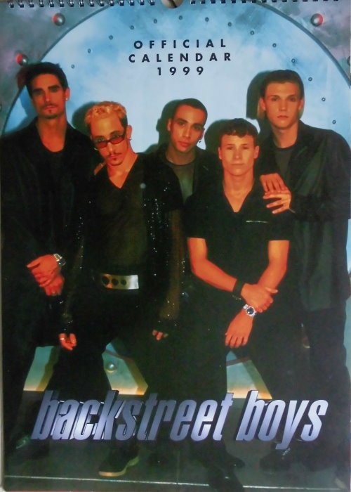 Backstreet Boys - Offizieller Kalender 1999