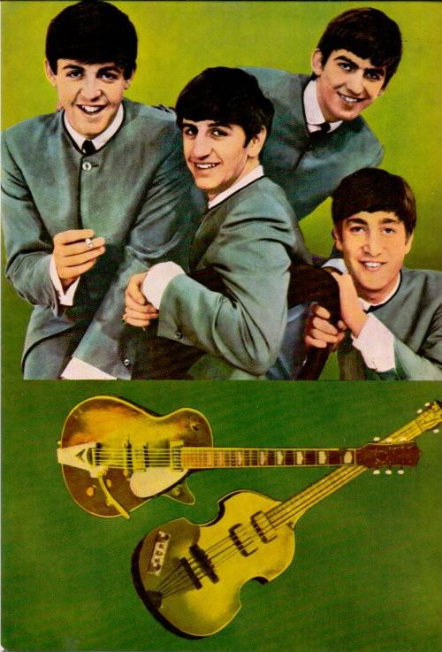The Beatles Original-Foto 60er Jahre
