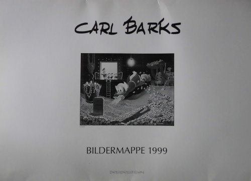 Carl Barks Bildermappe 1999