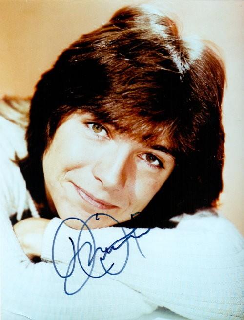 David Cassidy Autogramm
