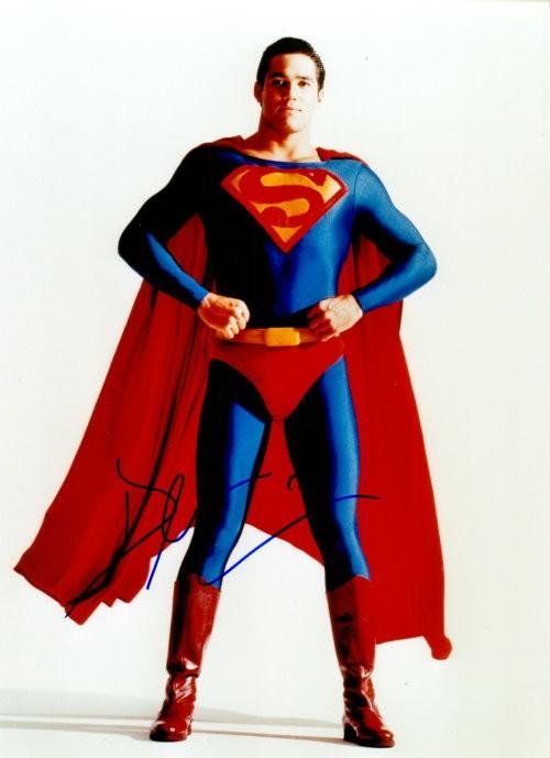 Dean Cain Autogramm als Superman
