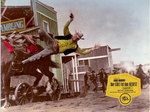 Der Colt Ist Das Gesetz - Original Lobbycard