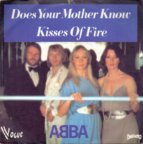 ABBA - Does Your Mother Know Vinyl-Single