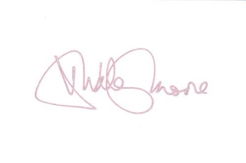 Dudley Moore Autogramm
