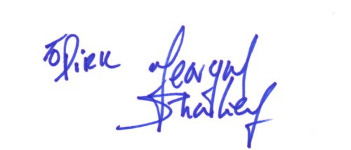 Feargal Sharkey Autogramm