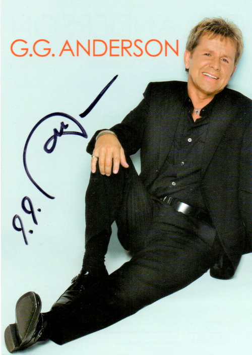 GG Anderson Autogramm