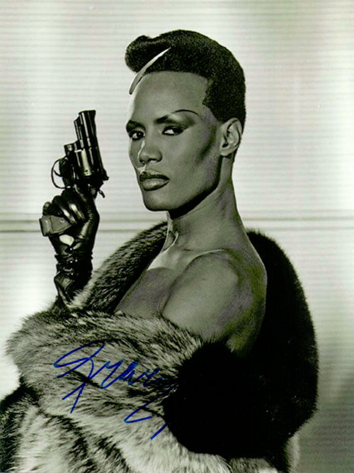 Grace Jones Autogramm