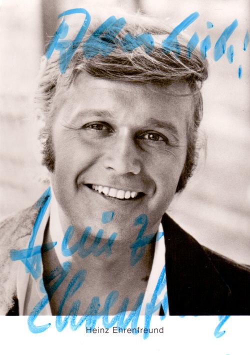 Heinz Ehrenfreund Autogramm