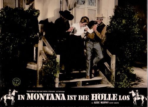 In Montana Ist Die Hölle Los - Original Lobbycard