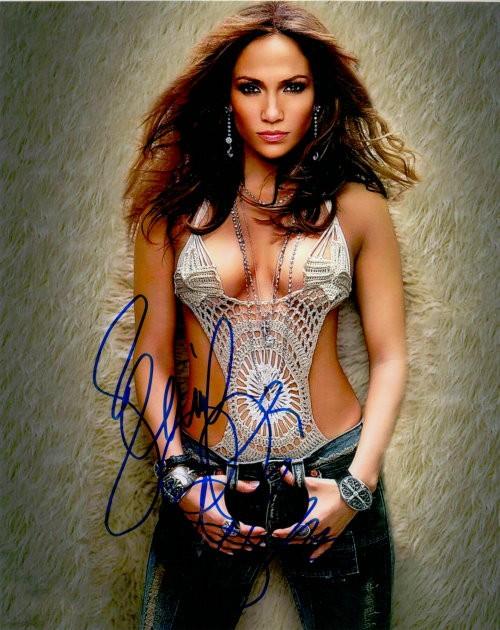 Jennifer Lopez - Autogramm