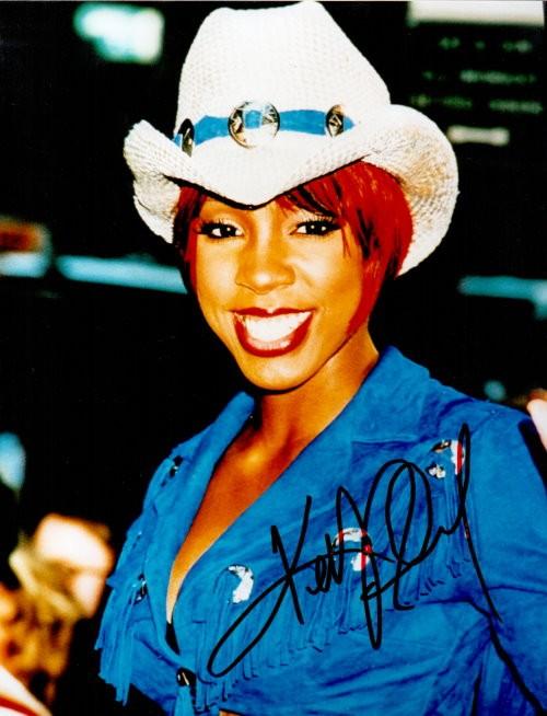 Kelly Rowland von Destinys Child Autogramm