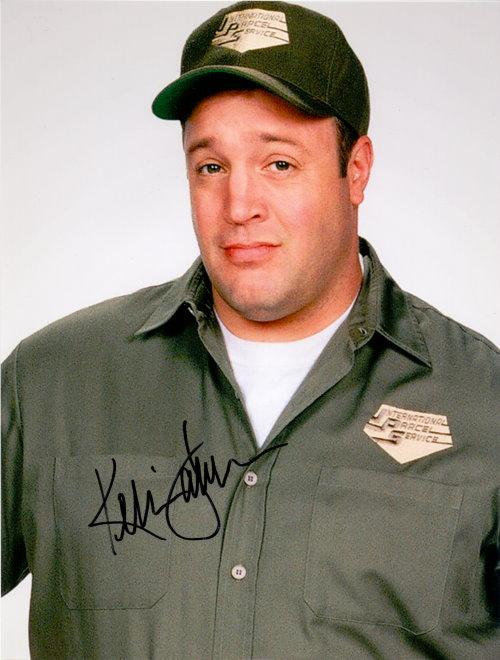 Kevin James - Autogramm