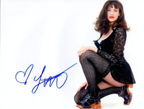 Liv Tyler - Autogramm