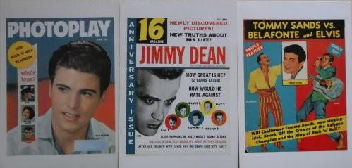 Magazin-Cover-Karten 50er Jahre