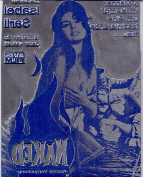 Original Druckplatten für Sex-Film-Cover